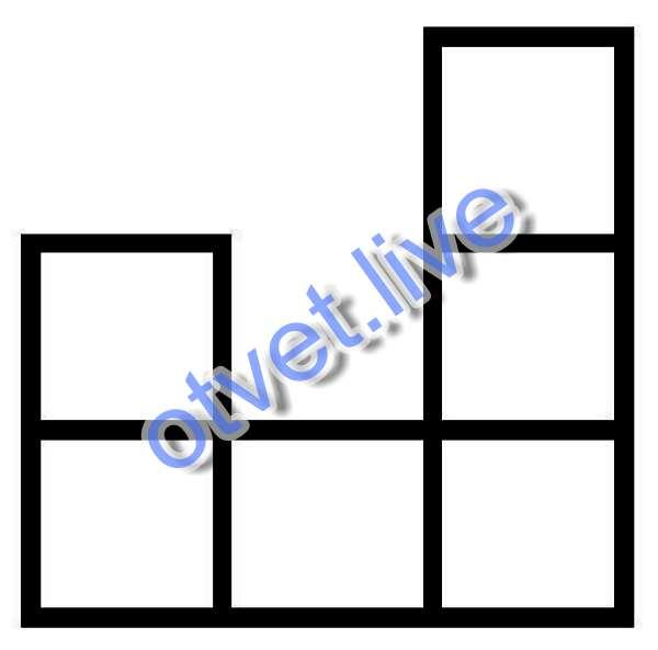 Количество квадратиков - полный квадрат числа, и это колияество делится на 6.