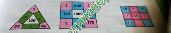 Первый квадрат: 260 540 200 190 1000 630 550 280 170